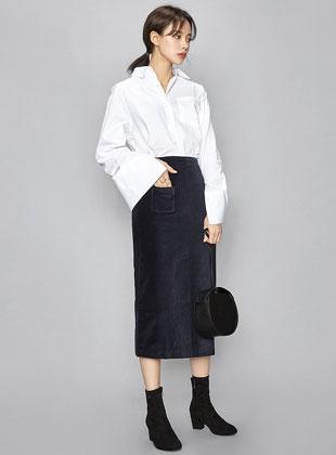 Oversize Basic Cotton Shirts