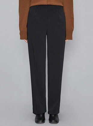 Trendy Long Straight Slacks