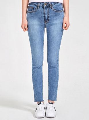 Grown Straight Denim Pants