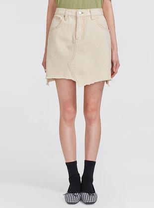 Unbalance Cutting Skirt