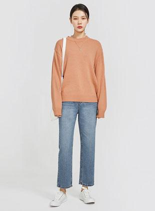 Enough Pastel Round Knit