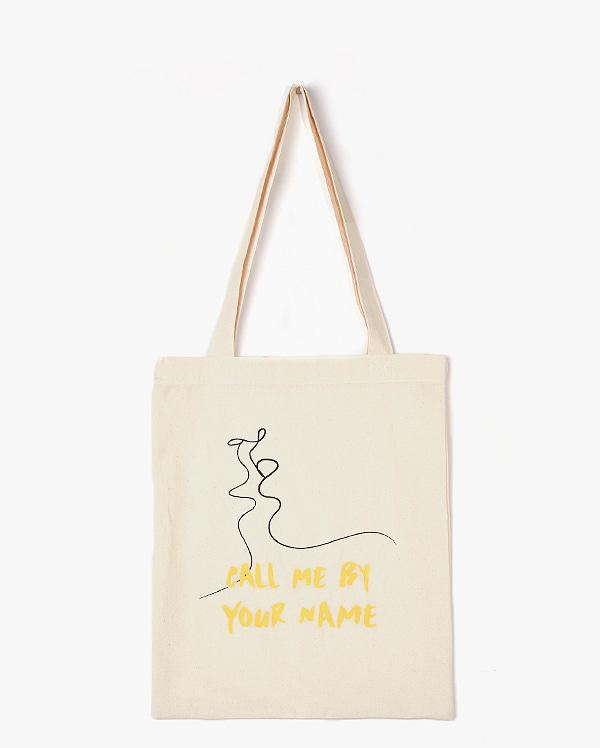 AIN - BRAND - Korean Fashion - #Kfashion - Love Drawing Eco Bag