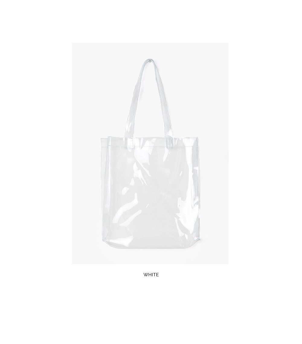 AIN - Korean Fashion - #Kfashion - None Sight Pvc Bag