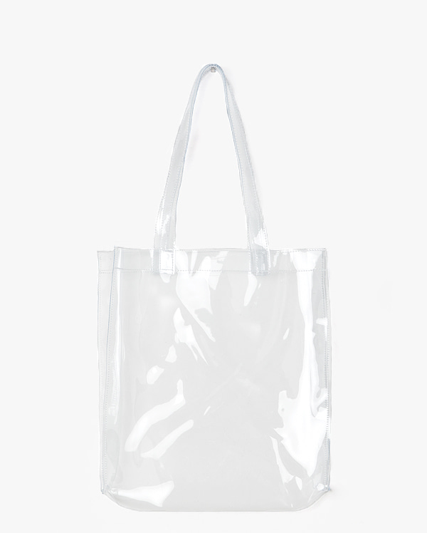 AIN - BRAND - Korean Fashion - #Kfashion - None Sight Pvc Bag