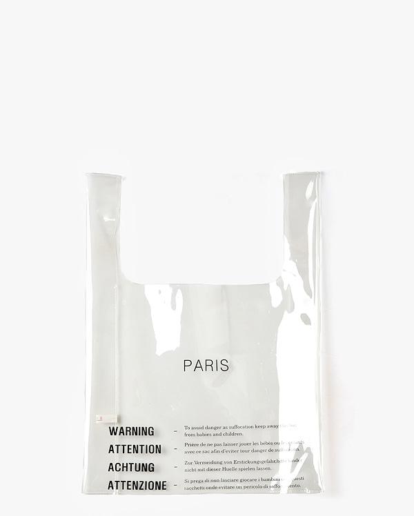AIN - BRAND - Korean Fashion - #Kfashion - Celine Paris Pvc Bag