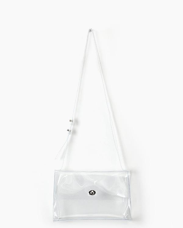AIN - BRAND - Korean Fashion - #Kfashion - Cleanly Pvc Shoulder Bag