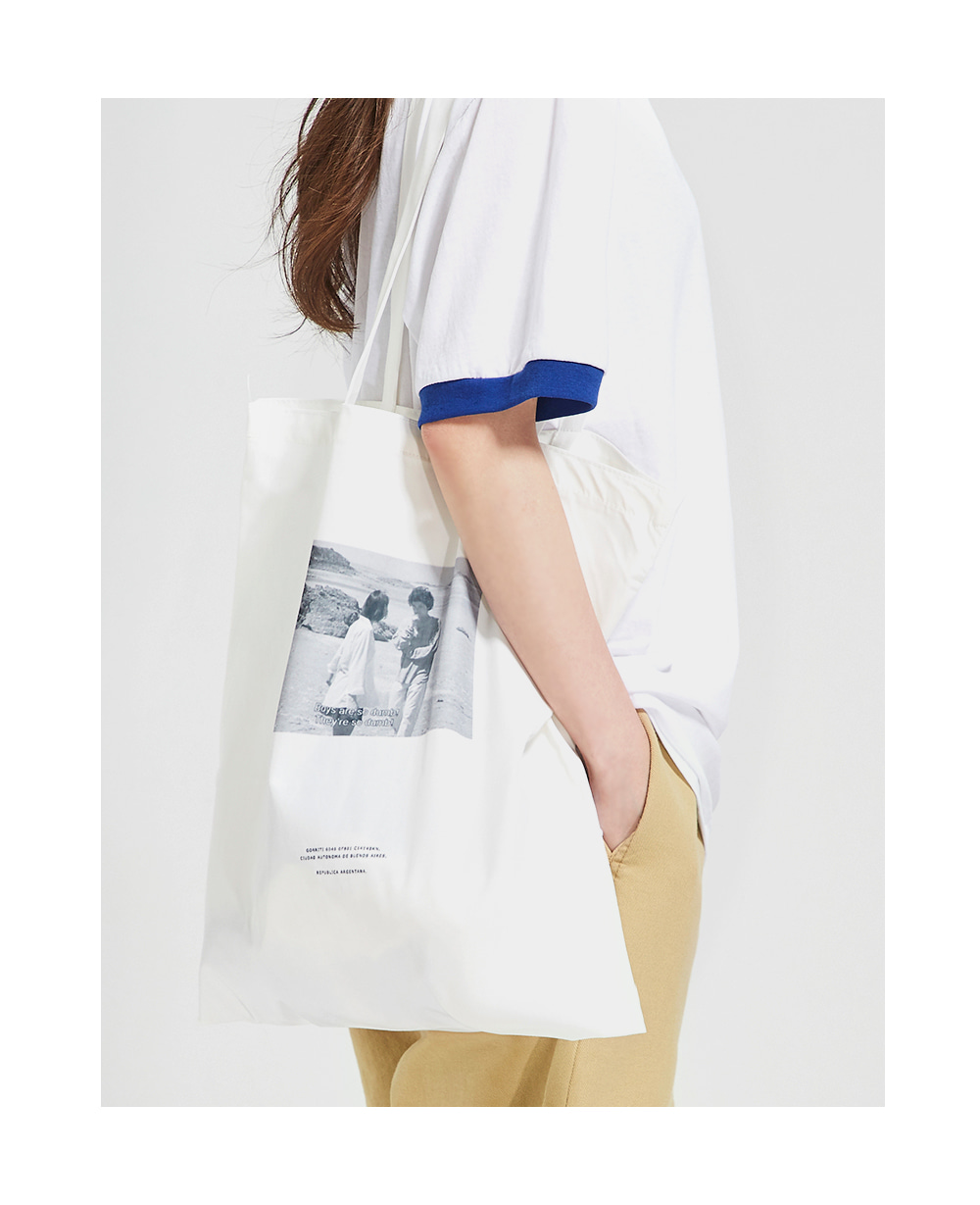 AIN - Korean Fashion - #Kfashion - Movie Unique Eco Bag