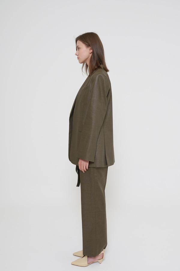 BLOSSOM - Korean Fashion - #Kfashion - Celine Linen Pants [set of 2]